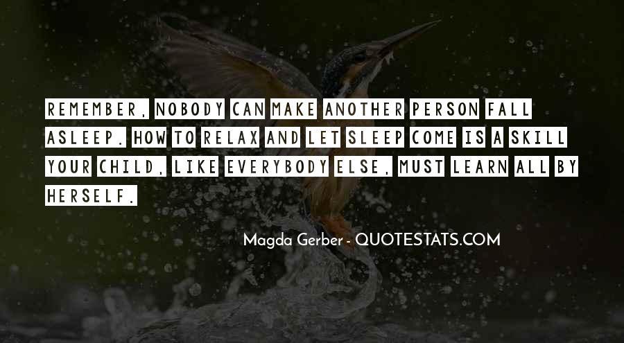 Magda Gerber Quotes #113987