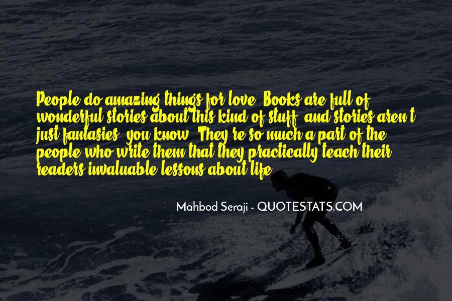 Mahbod Seraji Quotes #108741