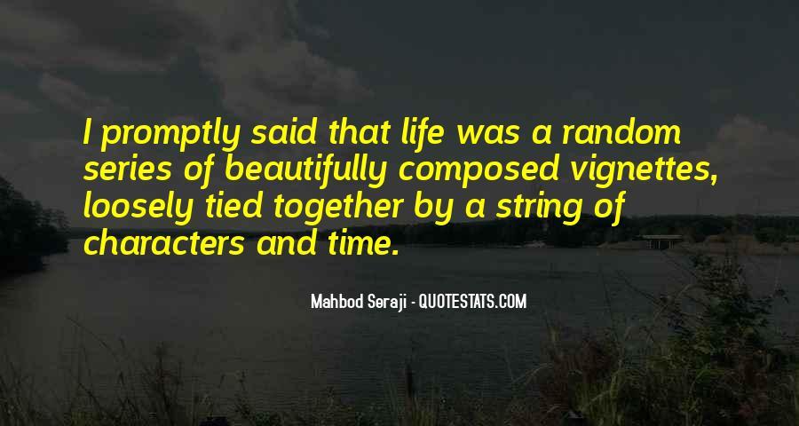 Mahbod Seraji Quotes #68819