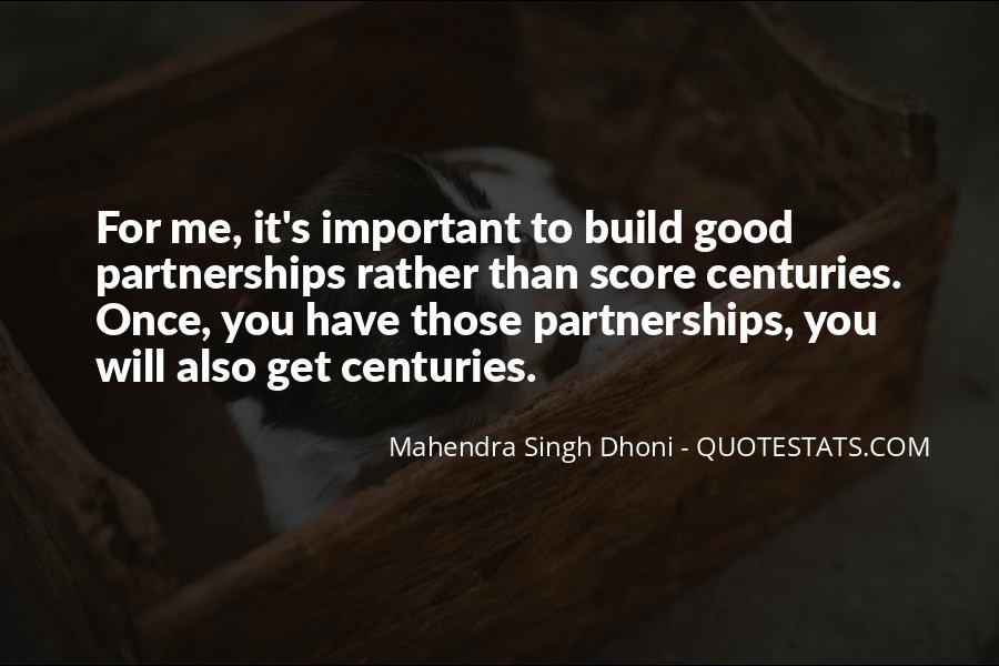 Mahendra Singh Dhoni Quotes #1293947