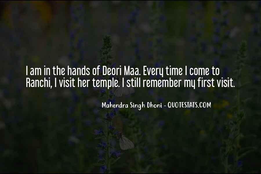 Mahendra Singh Dhoni Quotes #428765