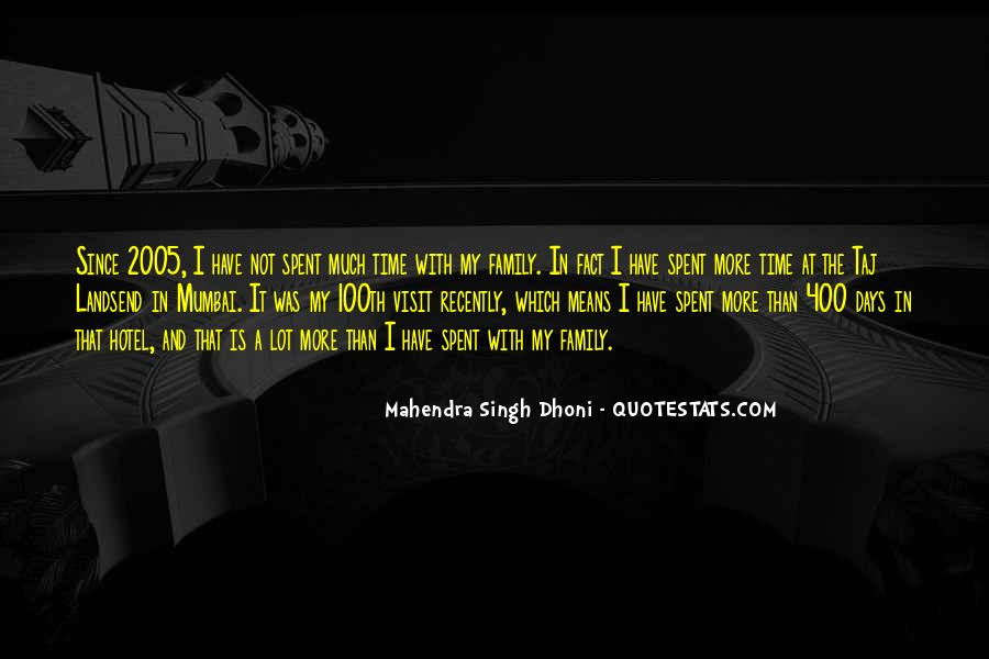 Mahendra Singh Dhoni Quotes #610696