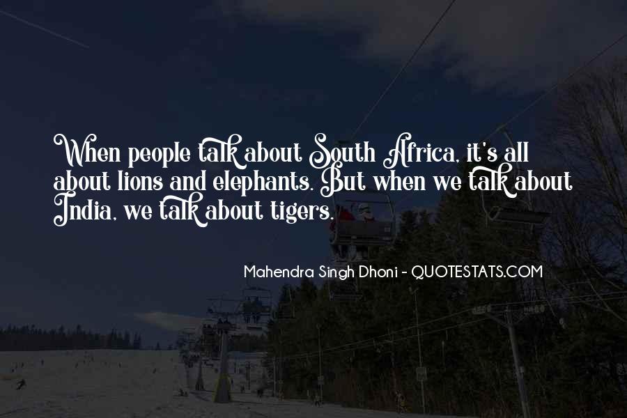 Mahendra Singh Dhoni Quotes #768183