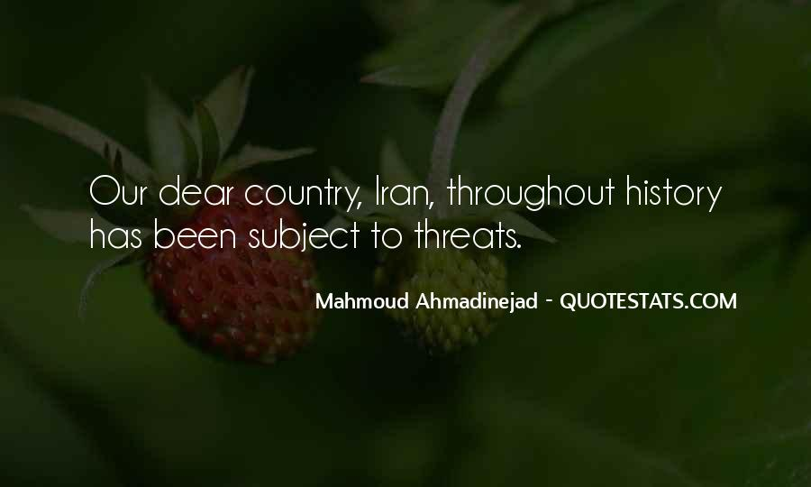 Mahmoud Ahmadinejad Quotes #1076702