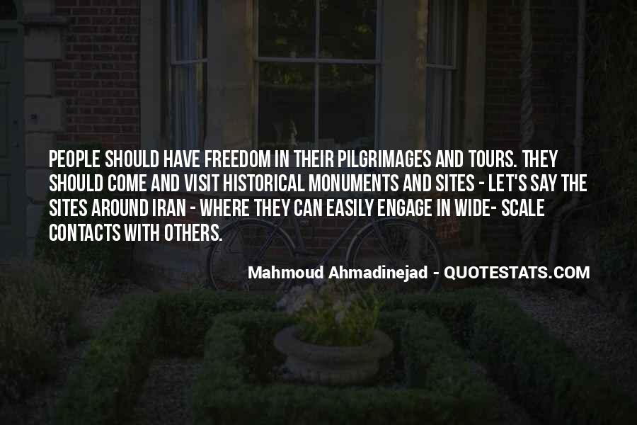 Mahmoud Ahmadinejad Quotes #122200