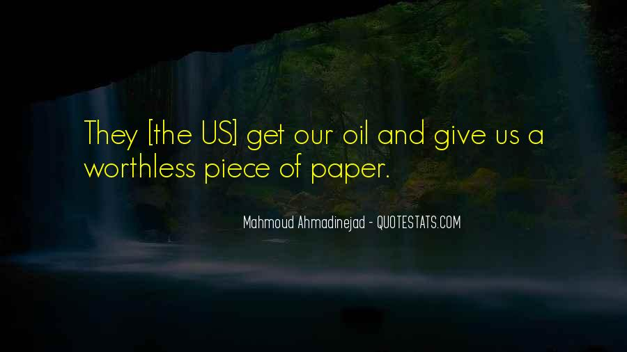 Mahmoud Ahmadinejad Quotes #1402727