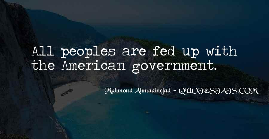 Mahmoud Ahmadinejad Quotes #146056