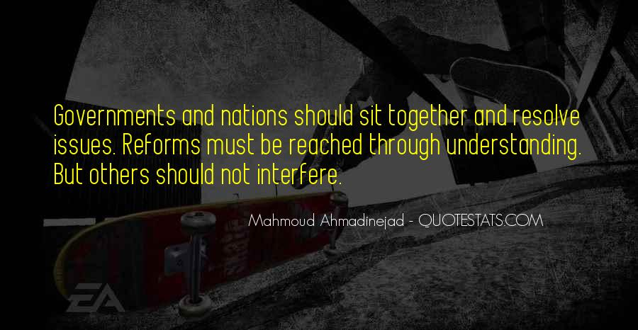 Mahmoud Ahmadinejad Quotes #1550667