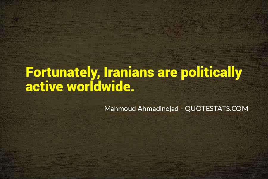 Mahmoud Ahmadinejad Quotes #1658441