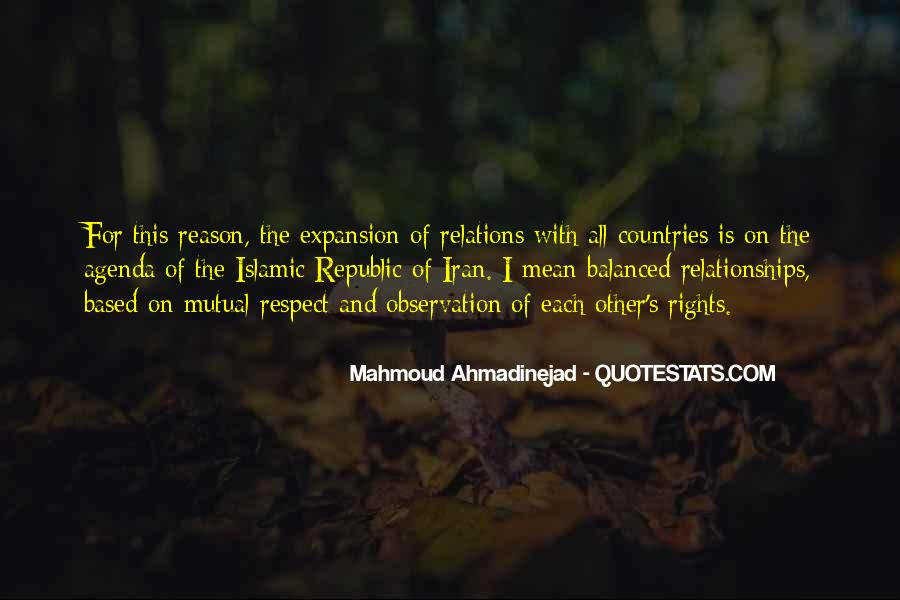 Mahmoud Ahmadinejad Quotes #1698011