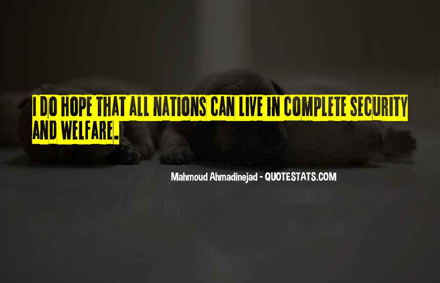 Mahmoud Ahmadinejad Quotes #195517