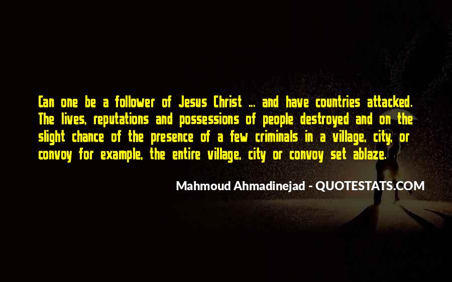 Mahmoud Ahmadinejad Quotes #33165