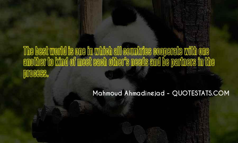 Mahmoud Ahmadinejad Quotes #394113