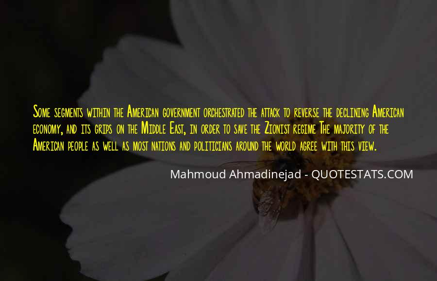Mahmoud Ahmadinejad Quotes #699341
