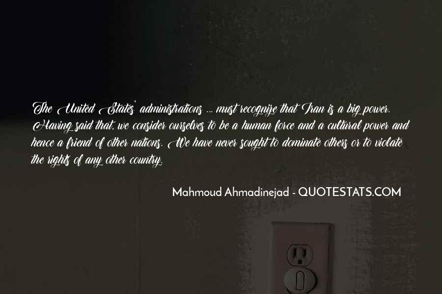 Mahmoud Ahmadinejad Quotes #738818