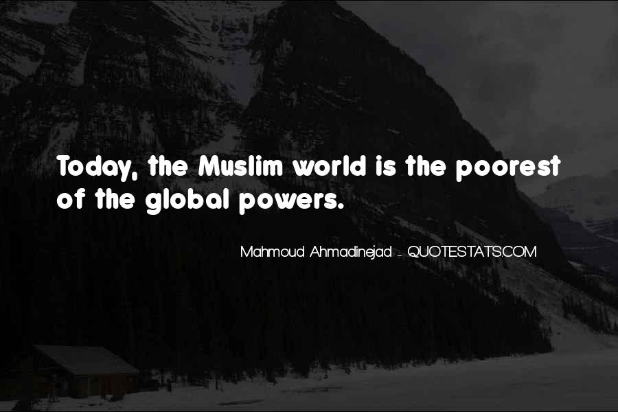 Mahmoud Ahmadinejad Quotes #79640