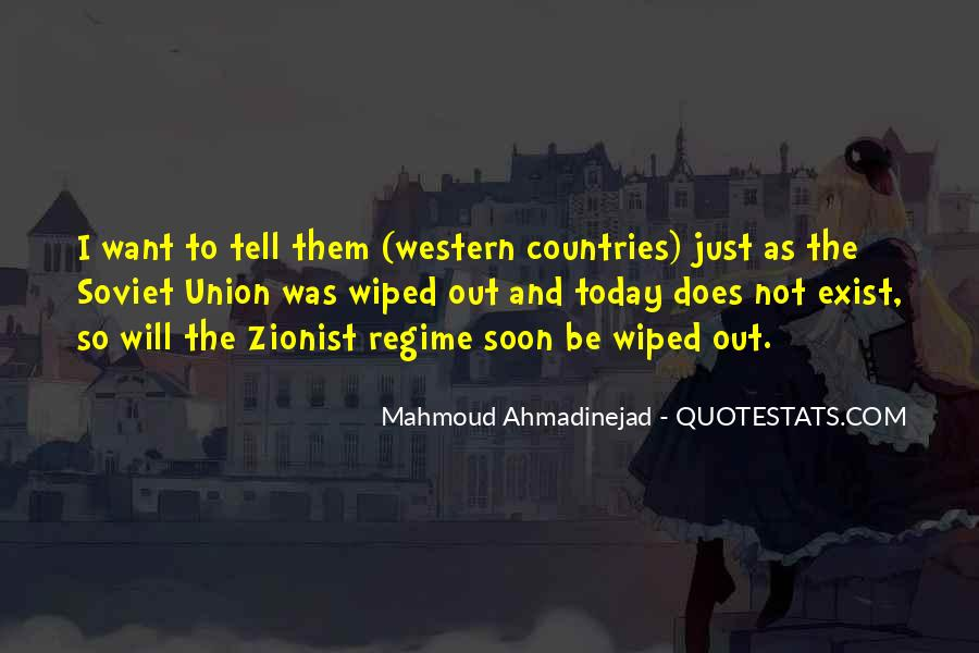 Mahmoud Ahmadinejad Quotes #911653