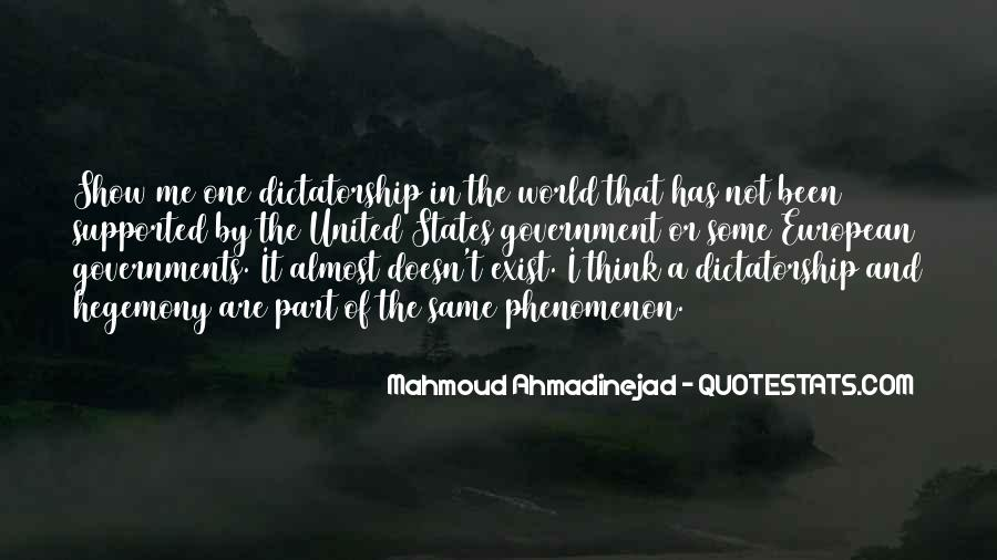 Mahmoud Ahmadinejad Quotes #934574