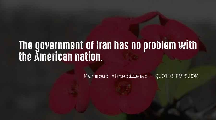 Mahmoud Ahmadinejad Quotes #97480