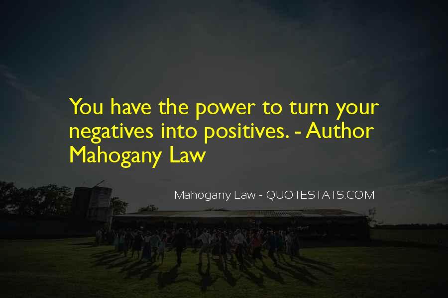 Mahogany Law Quotes #1325294