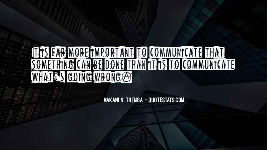 Makani N. Themba Quotes #1331064