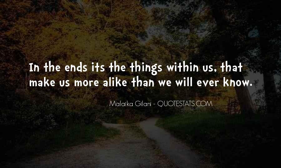 Malaika Gilani Quotes #1387700