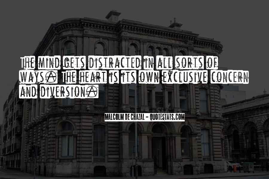 Malcolm De Chazal Quotes #1079332