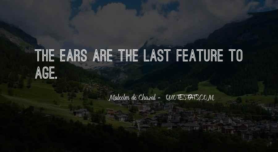 Malcolm De Chazal Quotes #1090156