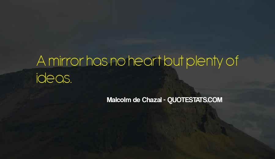 Malcolm De Chazal Quotes #114197