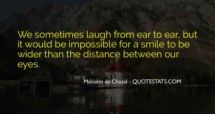 Malcolm De Chazal Quotes #940617