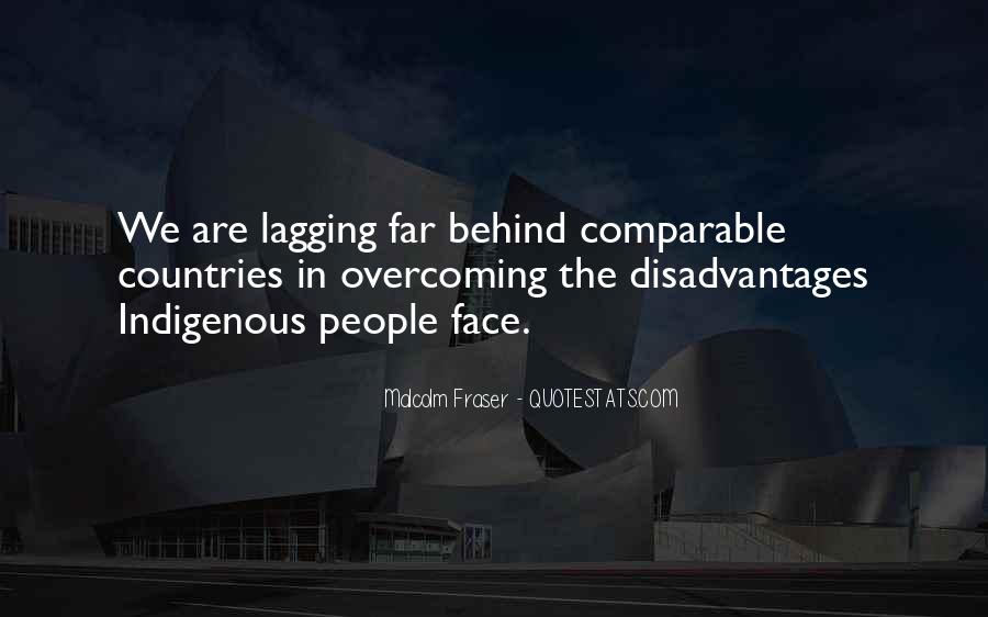 Malcolm Fraser Quotes #1222084