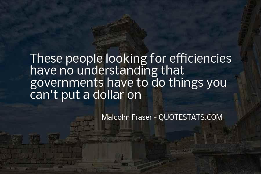 Malcolm Fraser Quotes #168558