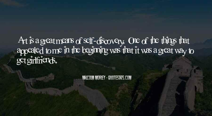 Malcolm Morley Quotes #1284674