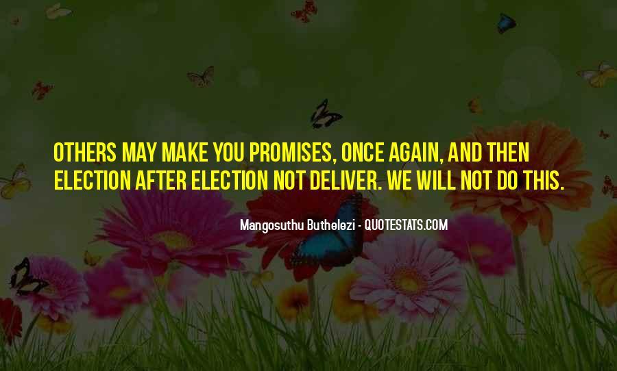Mangosuthu Buthelezi Quotes #1021491