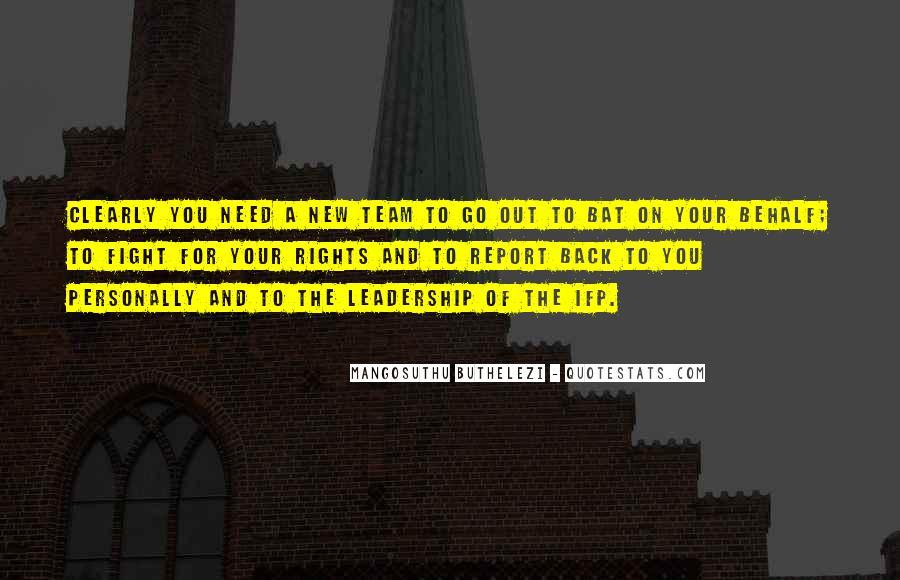 Mangosuthu Buthelezi Quotes #1043857
