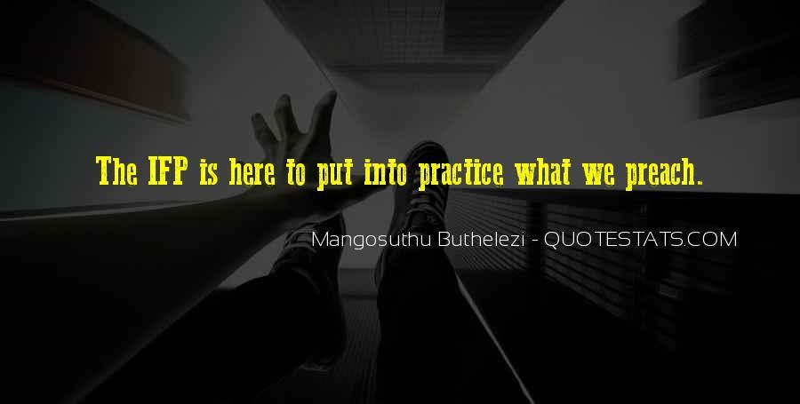 Mangosuthu Buthelezi Quotes #1157871