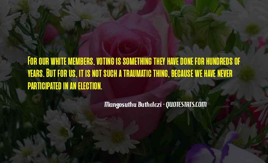 Mangosuthu Buthelezi Quotes #1236659