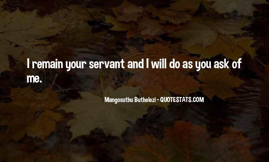 Mangosuthu Buthelezi Quotes #1245804