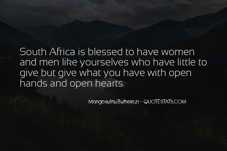 Mangosuthu Buthelezi Quotes #129040