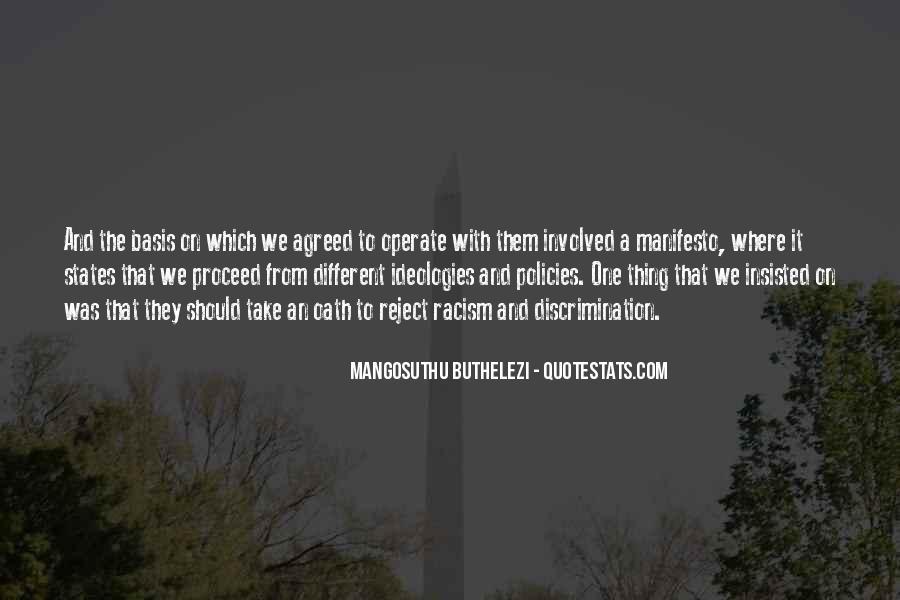 Mangosuthu Buthelezi Quotes #1421678