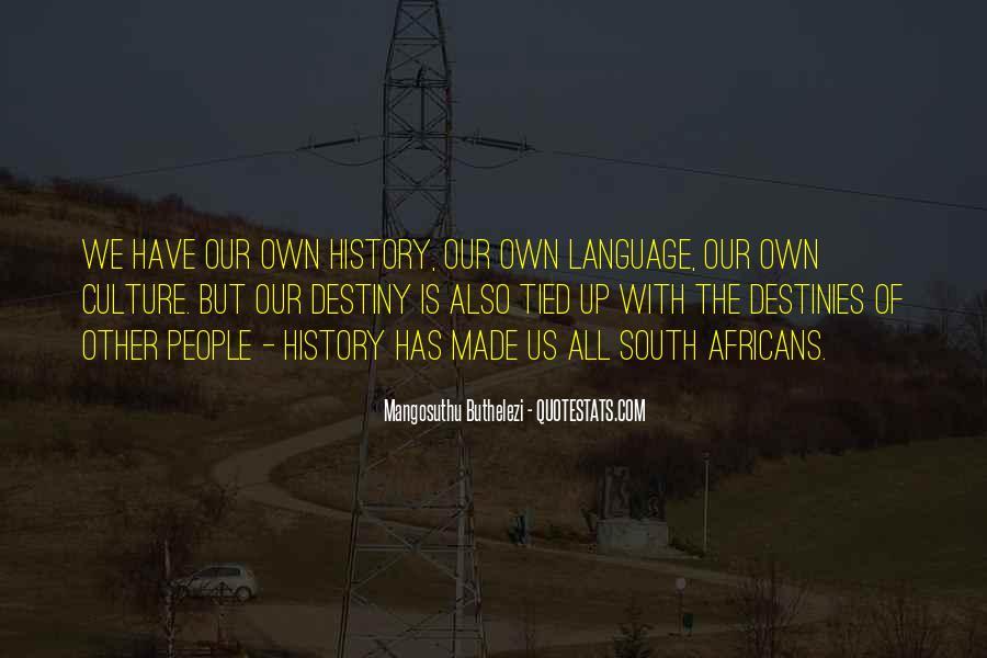 Mangosuthu Buthelezi Quotes #1447311