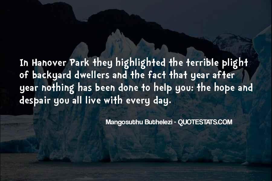 Mangosuthu Buthelezi Quotes #1618962
