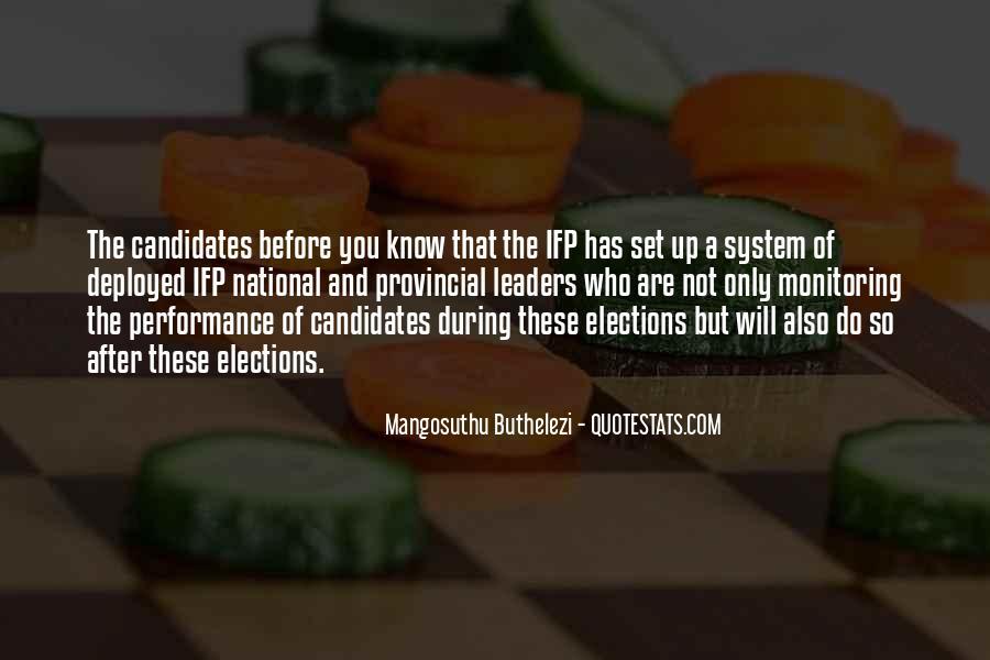 Mangosuthu Buthelezi Quotes #1651658