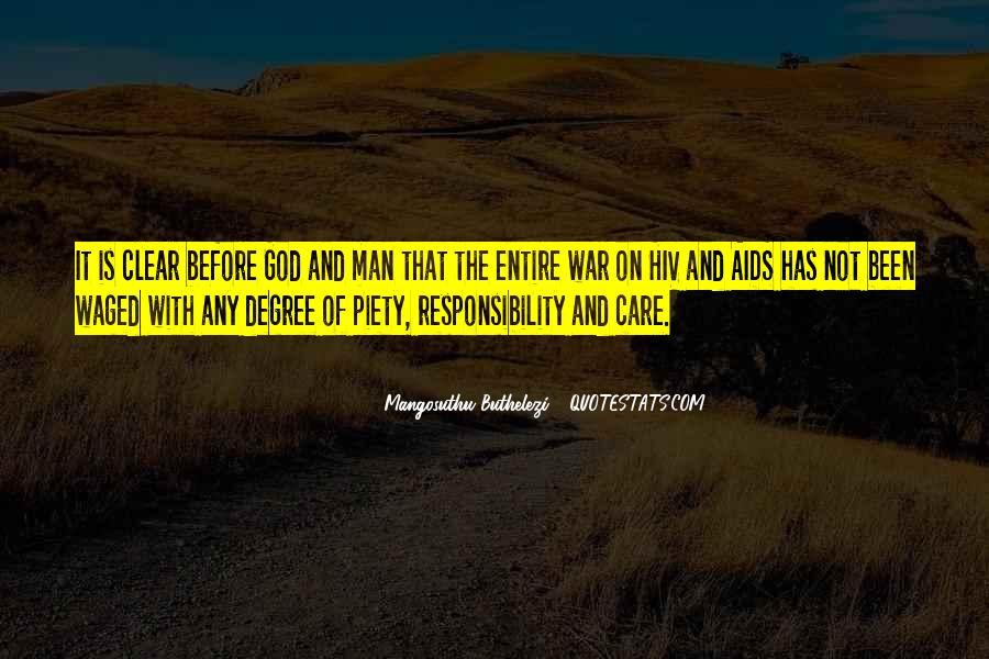 Mangosuthu Buthelezi Quotes #310887
