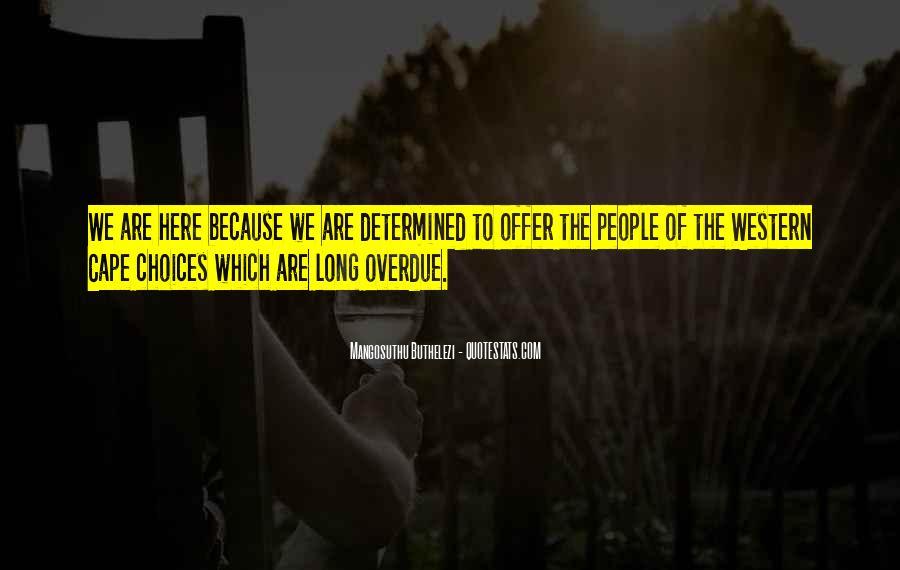 Mangosuthu Buthelezi Quotes #554083