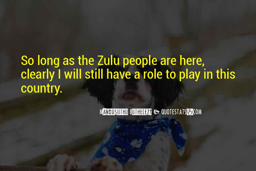 Mangosuthu Buthelezi Quotes #579007
