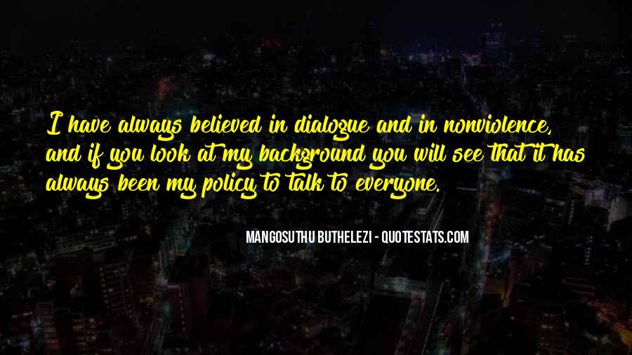 Mangosuthu Buthelezi Quotes #669349
