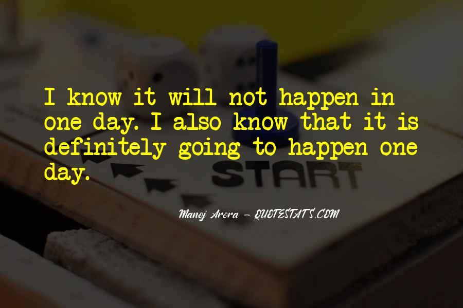 Manoj Arora Quotes #1010708