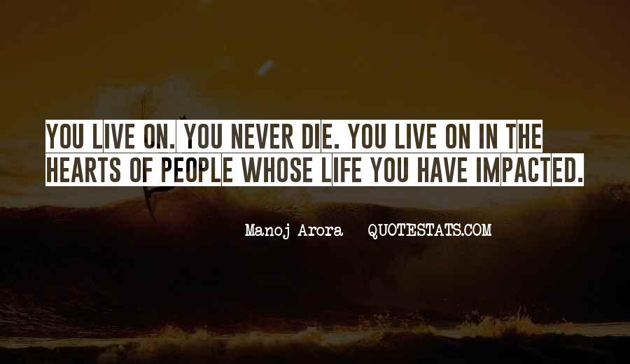 Manoj Arora Quotes #1063537