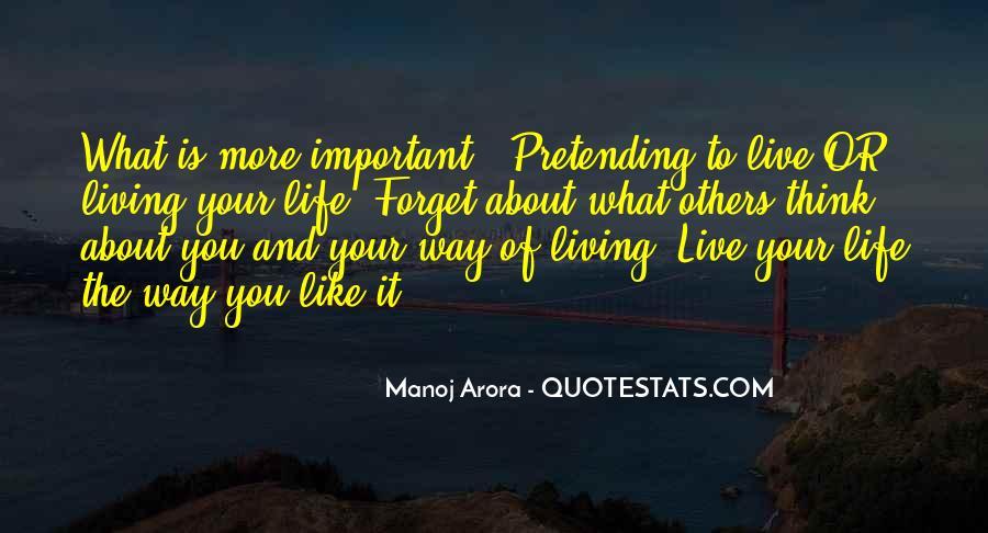Manoj Arora Quotes #1849502